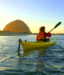 Located Near Pismo Beach Our Sunset Guided Kayak Tour Of Morro Bay Begins About Two And A Half Hours Before Finishes Back At The Docks